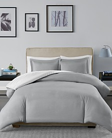 Madison Park Essentials Hayden Reversible 3-Pc. King/California King Duvet Cover Set
