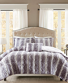 Madison Park Zuri 4-Pc. King Duvet Cover Set