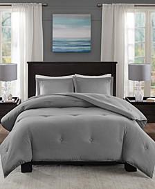 Clay 3-Pc. Full/Queen Comforter Set