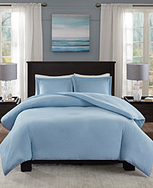 Madison Park Essentials Clay 3-Pc. Full/Queen Duvet Cover Set