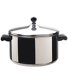 Classic Series Stainless Steel 6-Qt. Saucepot & Lid