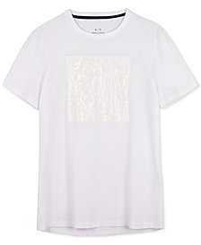 A|X Armani Exchange Men's Stretch Graphic-Print T-Shirt