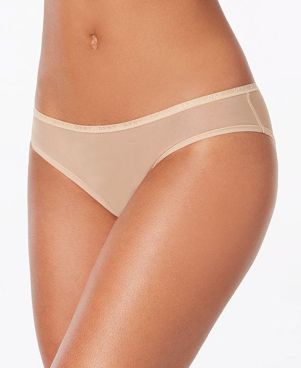 DKNY Logo Mesh Bikini Underwear DK5086