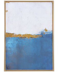 Zuo Azure Blue Canvas Print