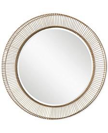 Bricius Round Metal Mirror