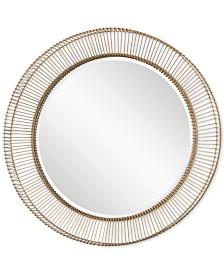 Uttermost Bricius Round Metal Mirror