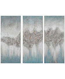 Madison Park 3-Pc. Luminous Hand-Painted Canvas Wall Art Set