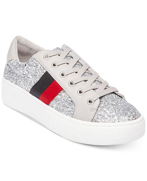 623a472e206 Steve Madden Women's Belle Glitter Fashion Sneakers & Reviews ...