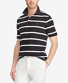 Polo Ralph Lauren Men's Classic Fit Striped Cotton Polo