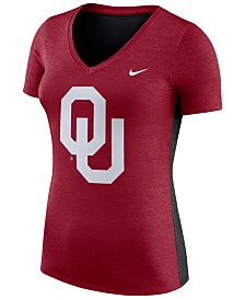 Nike Women's Oklahoma Sooners Dri-Fit Touch T-Shirt