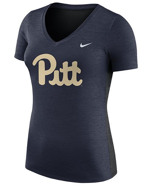 Nike Women's Pittsburgh Panthers Dri-Fit Touch T-Shirt