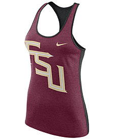 Nike Women's Florida State Seminoles Dri-Fit Touch Tank