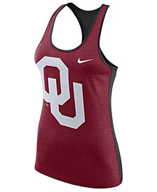 Nike Women's Oklahoma Sooners Dri-Fit Touch Tank