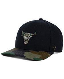 '47 Brand Chicago Bulls Caster Camo MVP Cap