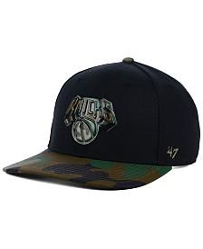'47 Brand New York Knicks Caster Camo MVP Cap