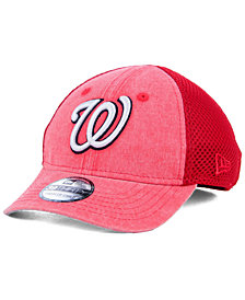 New Era Boys' Washington Nationals Jr Hooge Neo 39THIRTY Cap