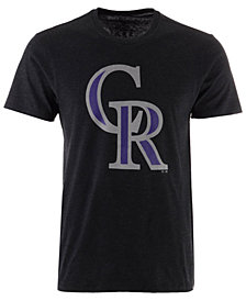 '47 Brand Men's Colorado Rockies Club Logo T-Shirt