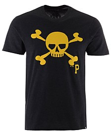 '47 Brand Men's Pittsburgh Pirates Club Logo T-Shirt