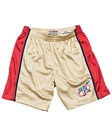 Mitchell & Ness Men's Houston Rockets Gold Collection Swingman Shorts