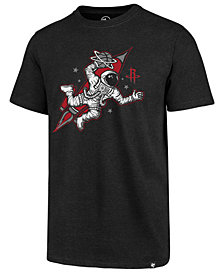 '47 Brand Men's Houston Rockets Regional Slogan Club T-Shirt