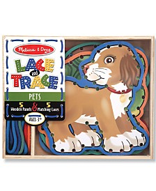 Melissa and Doug Kids Toy, Kids Lace & Trace Pets