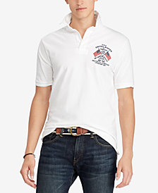 Polo Ralph Lauren Men's Classic Fit Cotton Rugby Shirt