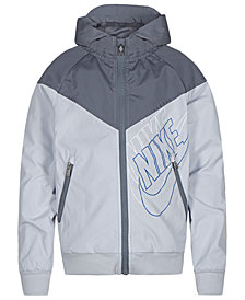 Nike Toddler Boys Sportswear Graphic Windrunner Hooded Jacket