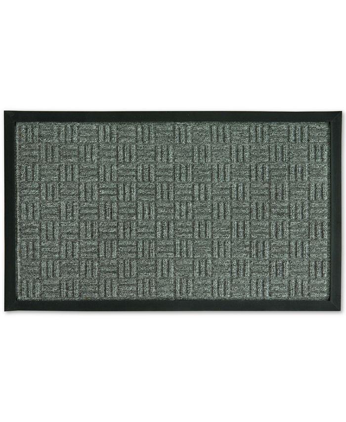 """Riviera Home - Textured Basketweave 18"""" x 30"""" Doormat"""