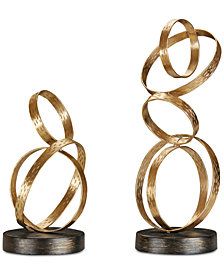 Madison Park Anelli Ring Tabletop Decor Collection