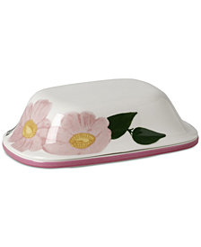 Villeroy & Boch Rose Sauvage Covered Butter Dish