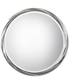Orion Silver Round Mirror