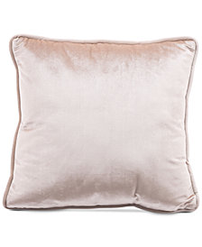 "Zuo Gold Velvet 17.7"" x 17.7"" Decorative Pillow"