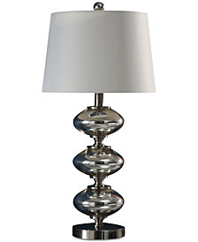 Abbyson Living Atlantic Silver Table Lamp