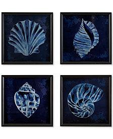 4-Pc. Madison Park Signature Seashell Wooden Wall Art Set