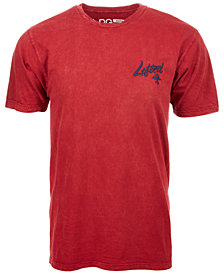 LRG Men's Lifted Tree Stonewashed Embroidered-Logo T-Shirt