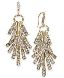 I.N.C. Stick Shaky Chandelier Earrings, Created for Macy's