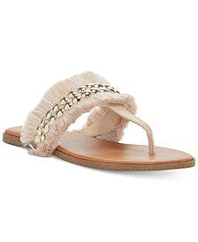 Jessica Simpson Crespo Fringe Flat Sandals