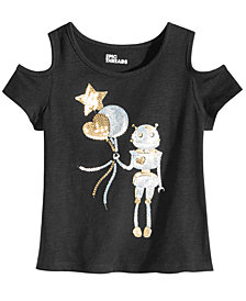 Epic Threads Toddler Girls Sequin Graphic-Print T-Shirt, Created for Macy's