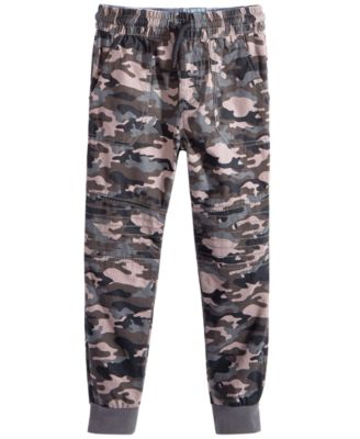 Toddler Boys Camo-Print Cotton Jogger Pants, Created for Macy's