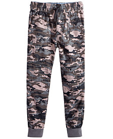 Epic Threads Little Boys Camo-Print Cotton Jogger Pants, Created for Macy's