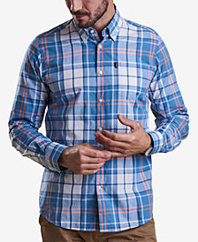 Barbour Men's Jeff Tailored-Fit Plaid Pocket Shirt