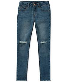 Tommy Hilfiger Big Girls Embroidered Skinny Jeans