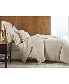 Hotel Collection Madison Hemstitch Queen Flat Sheet, Created for Macy's