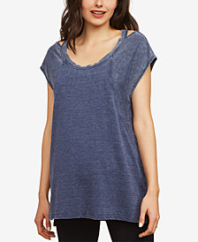 Motherhood Maternity Scoop-Neck T-Shirt