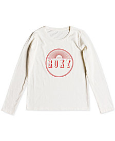 Roxy Big Girls Long-Sleeve Cotton T-Shirt