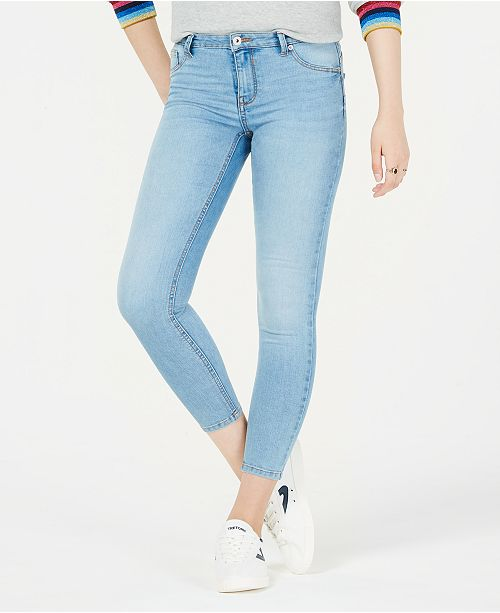 Celebrity Pink Juniors' Curvy-Fit Skinny Jeans