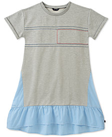 Tommy Hilfiger Big Girls Mixed Dress