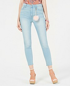 Juniors' High Rise Skinny Jeans