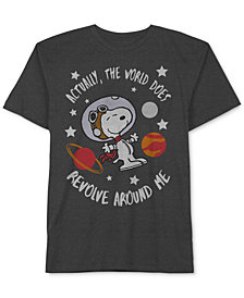 Peanuts Little Boys Snoopy-Print T-Shirt