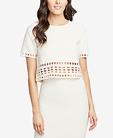 RACHEL Rachel Roy Cutout Crop Top